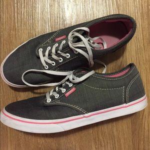 d8e38b0af4 Vans Women s Gray Sneakers. Size 7.5